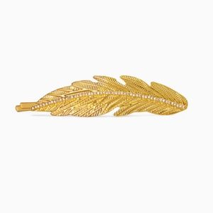 Stella & Dot Pave Feather Hair Pin